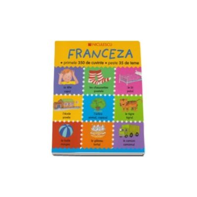 Franceza - primele 350 de cuvinte - peste 35 de teme (Editie Ilustrata)
