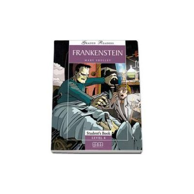 Frankenstein. Graded Readers level 4 (Intermediate) readers pack with CD