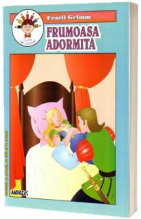 Frumoasa adormita - Fratii Grimm (Carticica de povesti, de citit si de colorat)