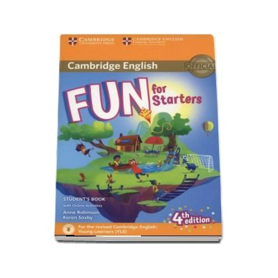 Fun for Starters Students Book with Online Activities with Audio (4th edition)