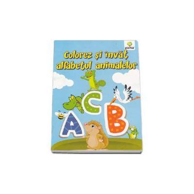 Colorez si invat alfabetul animalelor 3-7 ani