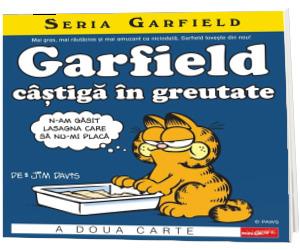 Garfield castiga in greutate