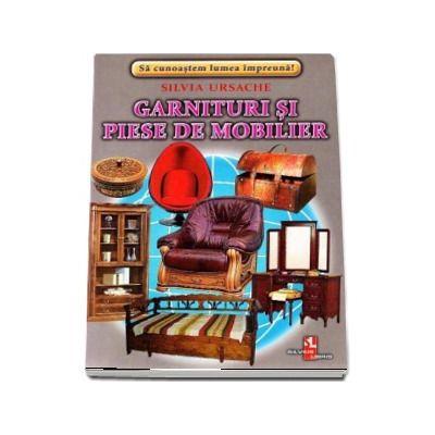 Garnituri si piese de mobilier - Sa cunoastem lumea impreuna! (Contine 16 cartonase cu imagini color)