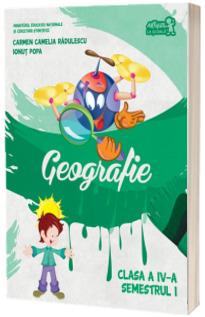 Geografie. Manual pentru clasa a IV-a, semestrul I