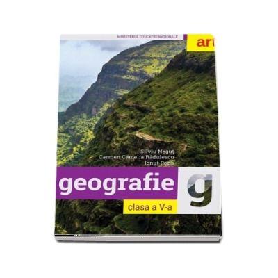 Geografie, manual pentru clasa a V-a - Silviu Negut (Contine CD cu editia digitala a manualului)