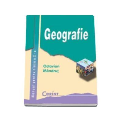 Geografie manual pentru clasa a X-a, Octavian Mandrut
