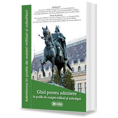 Ghid pentru admitere in scolile militare de maistri militari si subofiteri