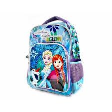 Ghiozdan Frozen pentru scoala, 3 compartimente si 2 buzunare laterale, Disney