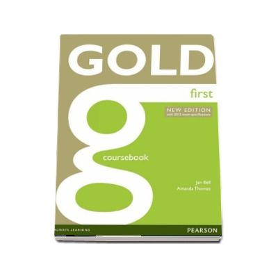 Gold First Coursebook - New Edition With 2015 Exam Specifications