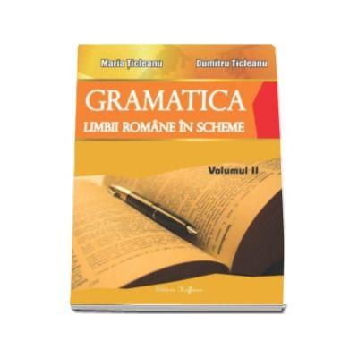 Gramatica limbii romane in scheme, volumul II (partea de exercitii) - Maria Ticleanu
