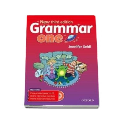 Grammar One Students Book with Audio CD - New third edition