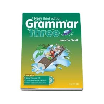 Grammar three Students Book with Audio CD - New third edition
