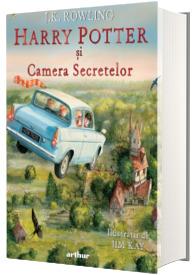 Harry Potter si Camera Secretelor (ed. ilustrata)