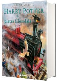 Harry Potter si piatra filosofala, editie ilustrata