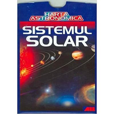 Harta astronomica -Sistemul solar