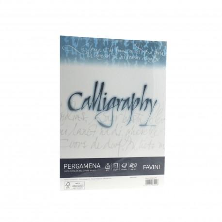 Hartie caligrafica A4 90g alb Pergamena Favini