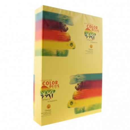 Hartie colorata, galbena, 80 g/mp A4, Clariana