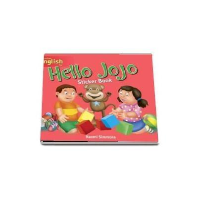 Hello Jojo. Sticker Book