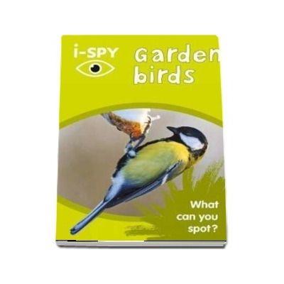 I-SPY. Garden birds, What can you spot?