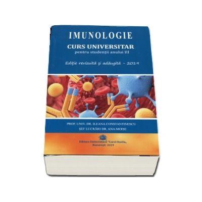 Imunologie. Curs universitar pentru studentii anului III