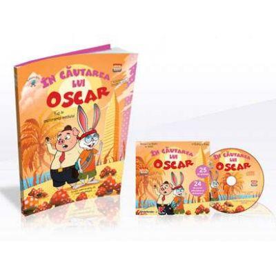 In cautarea lui Oscar - Tup in explorarea mediului (Contine CD cu soft educational)