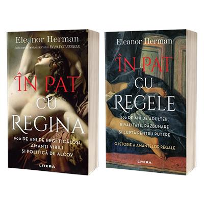 Serie de autor Eleanor Herman - In pat cu regele si In pat cu regina