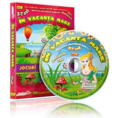 In vacanta mare. Jocuri educationale 3-7 ani, CD 8 (Colectia Eduteca)