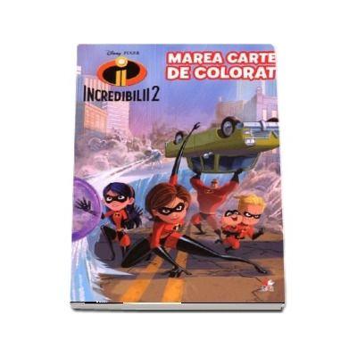 Incredibilii 2. Marea carte de colorat