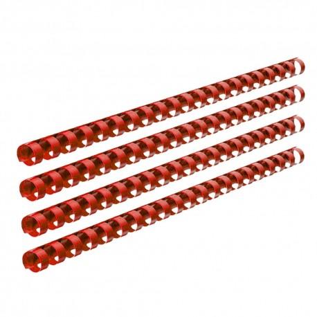 Inele plastic indosariere 8 mm, set 100 Ecada R