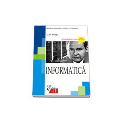 Informatica. Manual pentru clasa a XII-a Burta