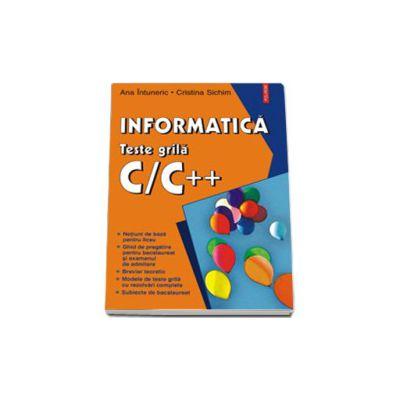 Informatica. Teste grila C/C++