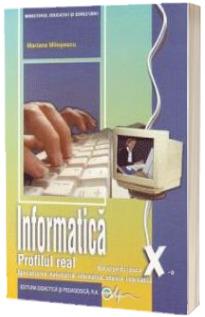 Informatica X- profil real intensiv