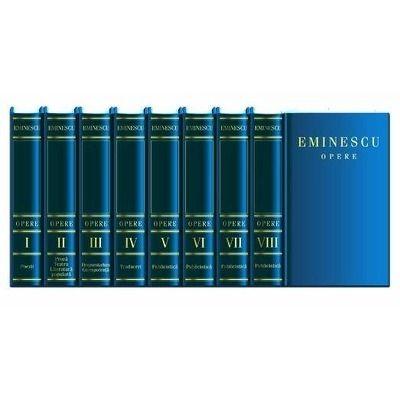 Integrala Eminescu (Opera completa, in 8 volume)