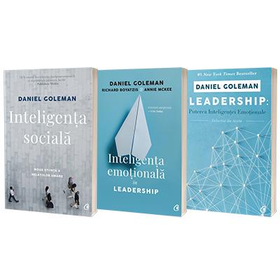 Serie de autor Daniel Goleman. Inteligenta sociala, Inteligenta emotionala in Leadership si Leadership