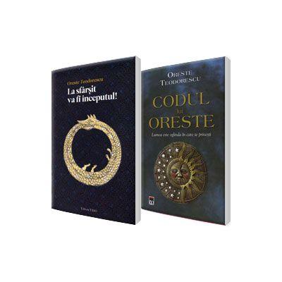 Introducere in esoterism Oreste Teodorescu, set 2 carti