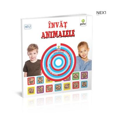 Invat animalele ( contine cd ) pentru varstele 2-5 ani