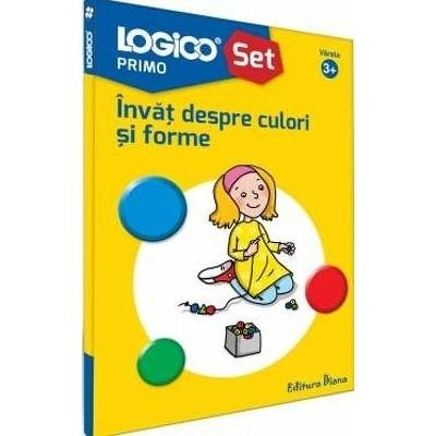 Invat despre culori si forme. Colectia Logico Primo
