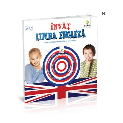 Invat limba engleza ( contine CD ) pentru varstele 3-7 ani