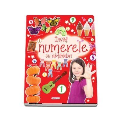 Învăț numerele cu abțibilduri