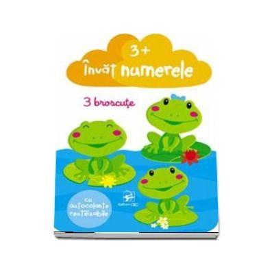 Invat numerele, cu autocolante reutilizabile (varsta +3 ani)