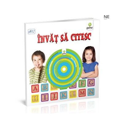 Invat sa citesc ( contine CD ) pentru varstele 3-7 ani