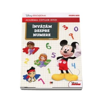 Invatam despre numere, grupa mare - Colectia Academia copiilor isteti (Editie 2018)