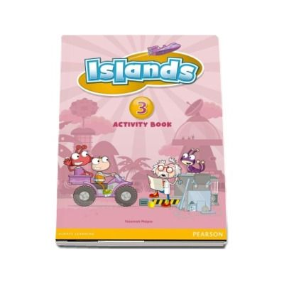 Islands Level 3 Activity Book Plus Pin Code - Susannah Malpas