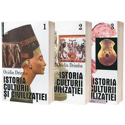 Istoria culturii si civilizatiei  (vol. 1,2,3). Editie definitiva