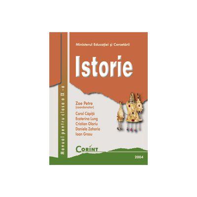 ISTORIE - Manual pentru clasa a IX-a, Zoe Petre
