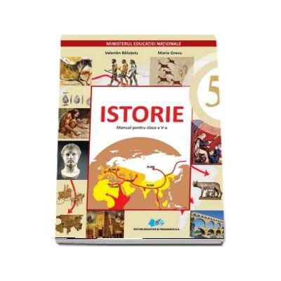 Istorie manual pentru clasa a V-a (Contine editie digitala) - Valentin Balutoiu