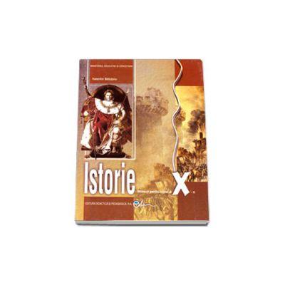 Istorie, manual pentru clasa a X-a (Valentin Balutoiu)