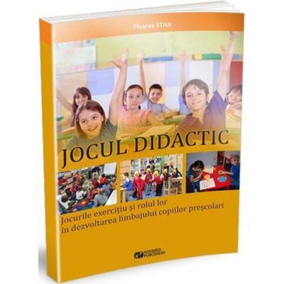 Jocul didactic. Jocurile exercitiu si rolul lor in dezvoltarea limbajului copiilor prescolari