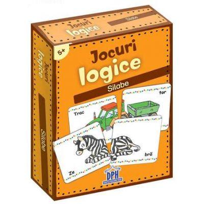 Jocuri logice - Silabe (Contine 48 de jetoane)