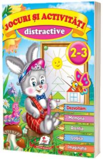 Jocuri si activitati distractive 2-3 ani